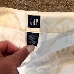 Pants - GAP-Linen Cropped Pants-4